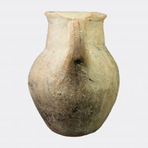 Cypriot White Shaved Ware pottery jug