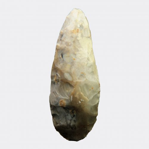 British Neolithic flint axe head from Norfolk