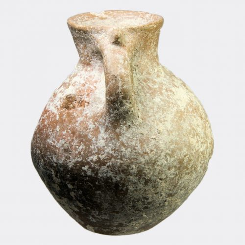 Miscellaneous Antiquities - Amlash pottery jug with mammiform decoration