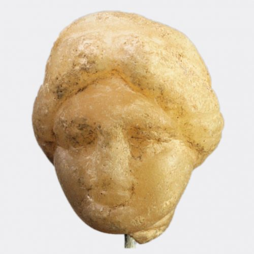 Roman Antiquities - Roman marble head of a goddess
