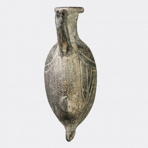 Egyptioan Antiquities - Egyptian Tell el Yahudiyeh ware pottery fish vase