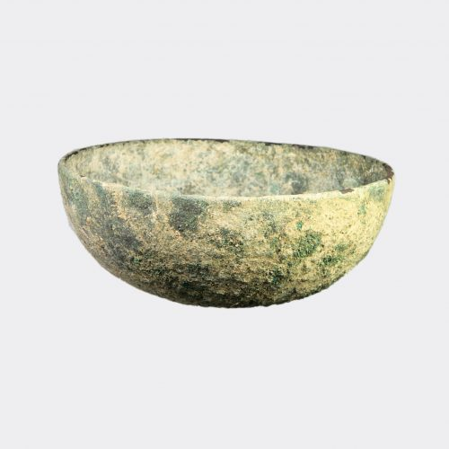 Ancient Near East - Urartian bronze omphalos cup