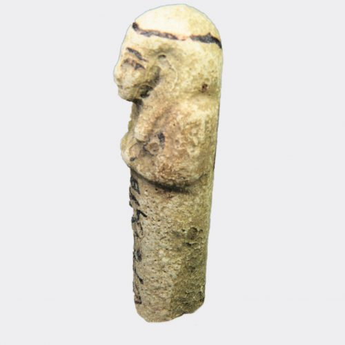 Egyptian Antiquities- Egyptian shabti of Bak-en-Khonsu, from the Ramesseum, Thebes