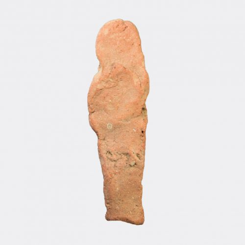 Ancient Egyptian - Egyptian moulded pottery shabti