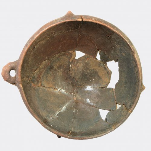 Ancient Villanovan - large pottery bowl