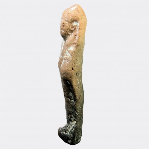 Egyptian Antiquities - Egyptian pottery shabti figure