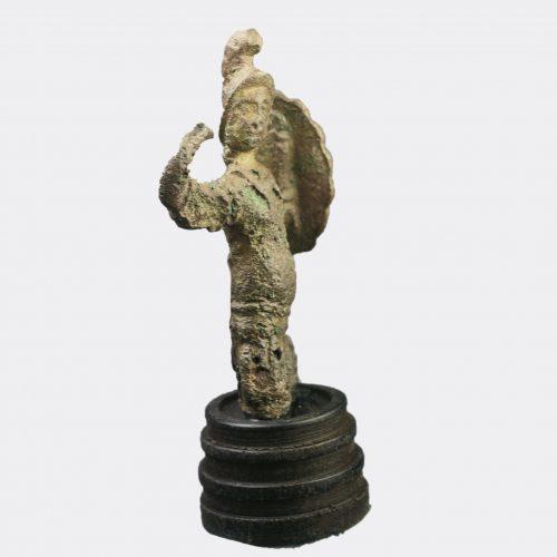 Roman Antiquities - Romano-British bronze figure of the god Mars