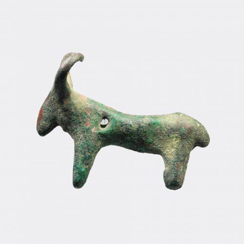 West Asian Antiquities - Anatolian bronze bull amulet