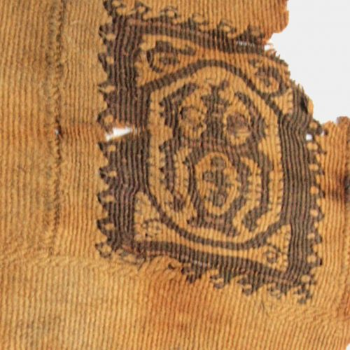 Miscellaneous Antiquities - Egyptian Coptic textile fragment
