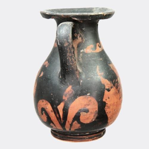 Greek Antiquities - Greek Apulian red figure pottery pelike