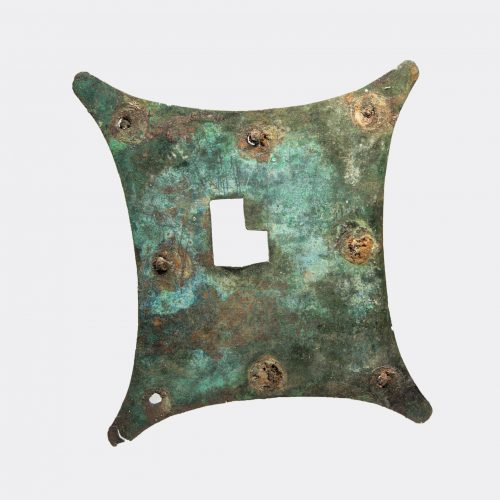 Roman bronze key-hole cover