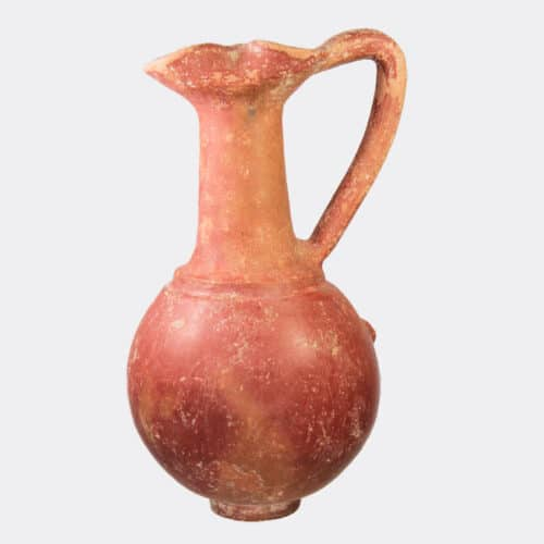 Cypriot Antiquities - Phoenician Achziv Ware pottery jug, possibly Cypriot