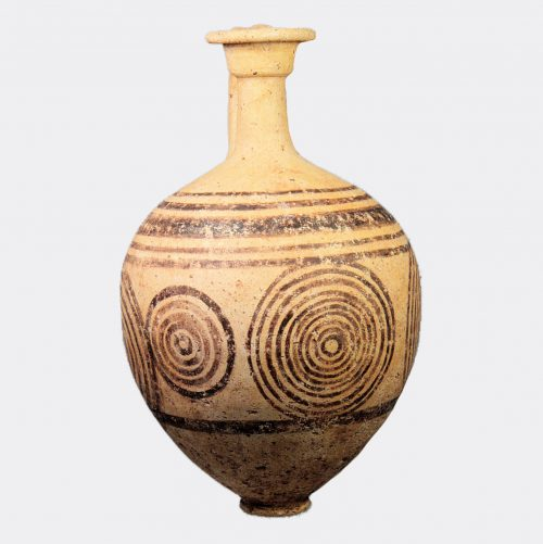 West Asian - Holy Lands Middle Bronze Age painted pottery jug