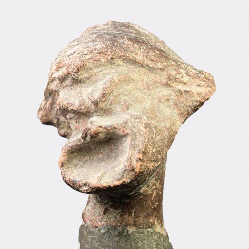 Roman Antiquities - Roman terracotta head of a comic actor