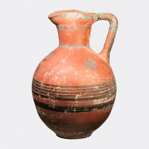 Cypriot Antiquities - Cypriot Iron Age painted pottery jug