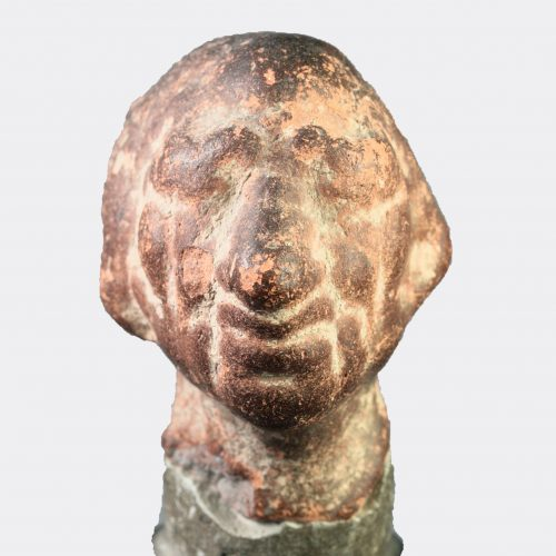 Roman Antiquities - Roman pottery grotesque head