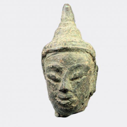 Miscellaneous Antiquities - Thai bronze Buddha head