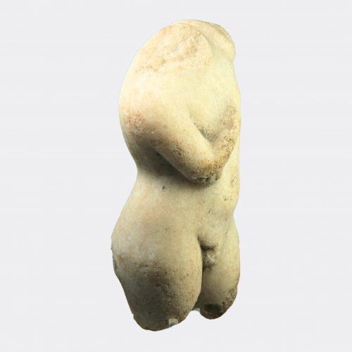 Roman Antiquities - Roman marble torso of a youth