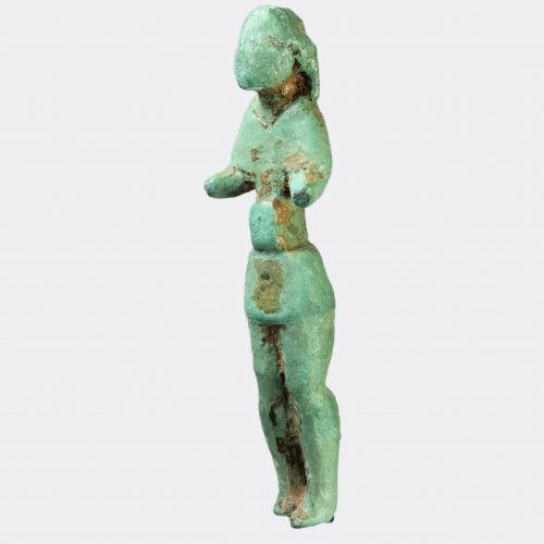 Miscellaneous Antiquities - Iberian votive bronze figure of a man