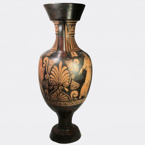 Greek Antiquities-Apulian large Panathenaic red figure amphora
