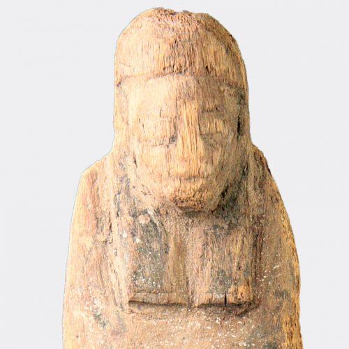 Egyptian Antiquities-Egyptian New Kingdom wood shabti