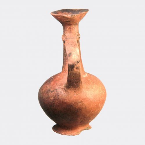 Cypriot Antiquities - Cypriot Late Bronze Age pottery poppy flask