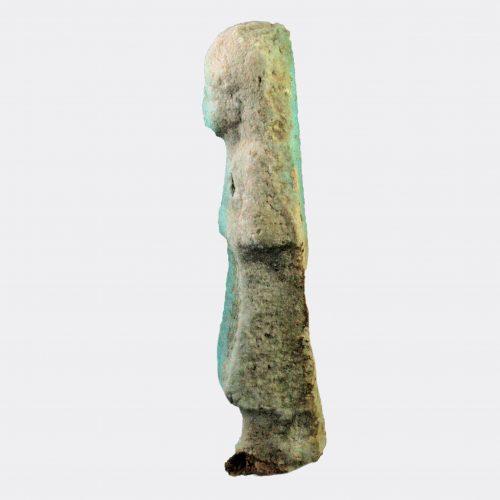 Egyptian Antiquities - Egyptian faience overseer shabti
