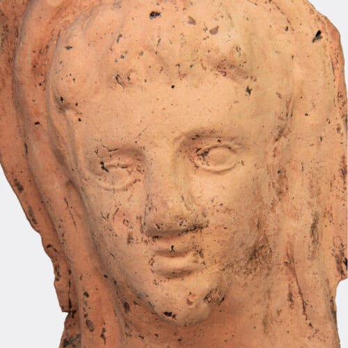 Miscellaneous Antiquities - Etruscan votive terracotta head of a youth