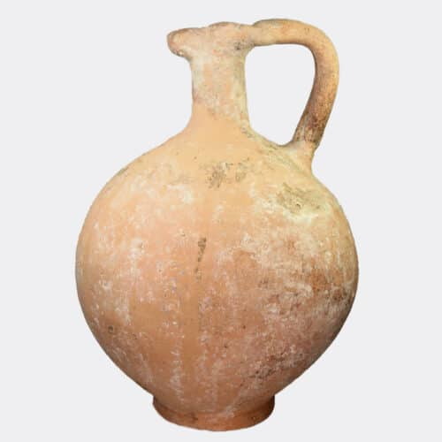 Cypriot Antiquities - Cypriot Early Iron Age plain pottery jug