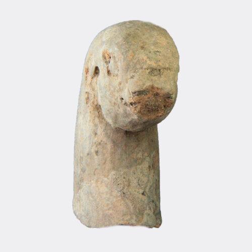 Miscellaneous Antiquities - Majapahit pottery bird head