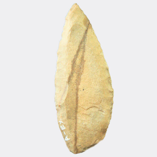 Miscellaneous Antiquities - Egyptian Fayum Neolithic flint knife