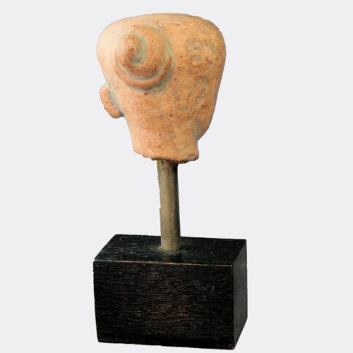 Miscellaneous Antiquities - Majapahit pottery head