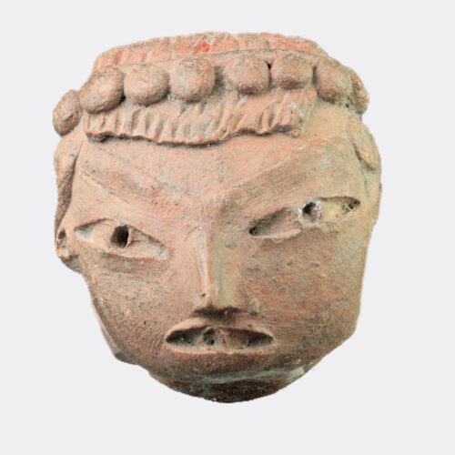 Miscellaneous Antiquities - Pre-Columbian pottery head