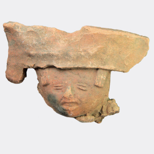 Miscellaneous Antiquities - Pre-Columbian pottery head fragment