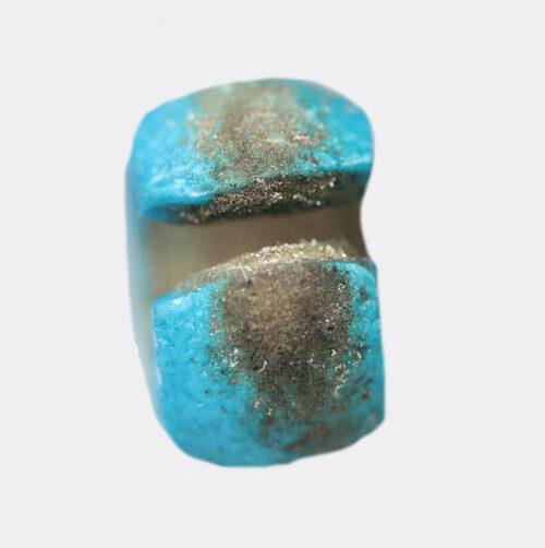 Egyptian Antiquities - Egyptian New Kingdom faience earring