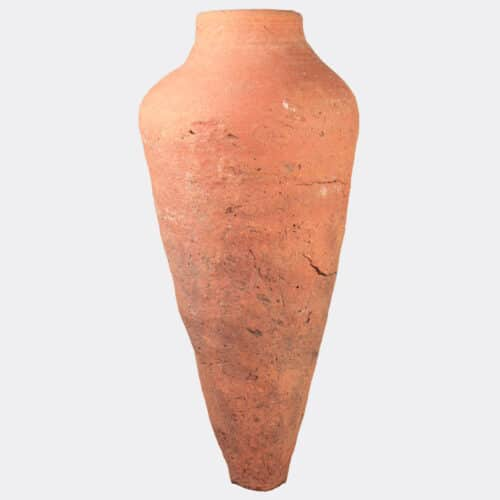 Egyptian Antiquities - Egyptian pottery vase with a pointed base