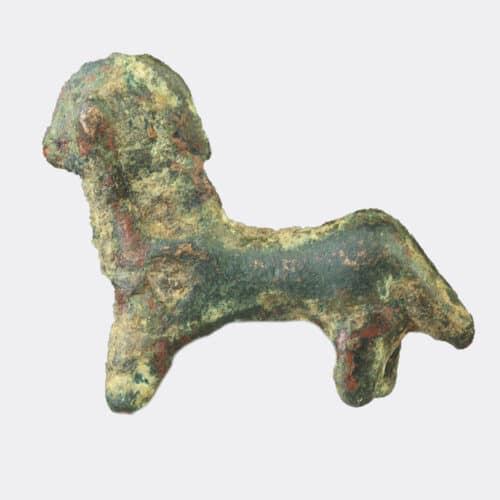 West Asian Antiquities - West Asian votive bronze horse