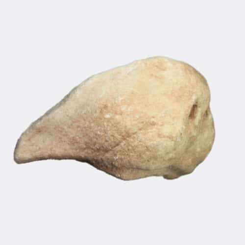 Roman Antiquities - Roman marble lion head fragment