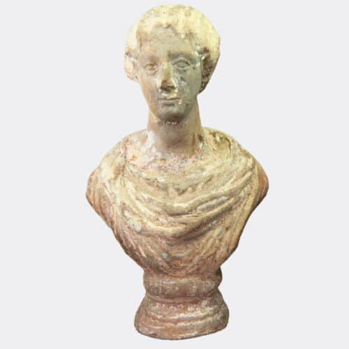 Roman Antiquities - Roman portrait bust, possibly Faustina Junior