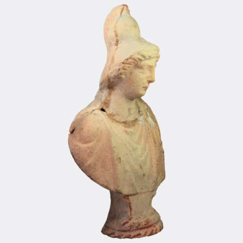 Miscellaneous Antiquities - Carthaginian pottery bust of Queen Dido