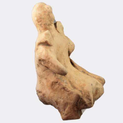 Greek Antiquities - Greek Argive early pottery figure of Hera