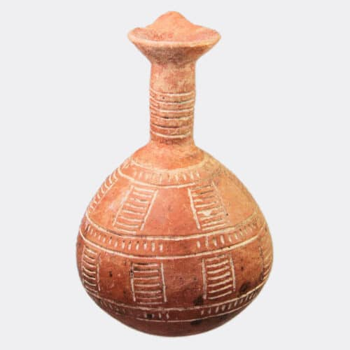 Cypriot Antiquities - Cypriot Early Bronze Age incised pottery jug