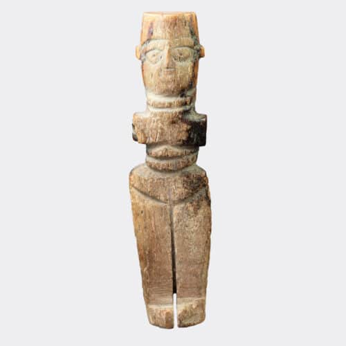 Miscellaneous Antiquities - Egyptian Coptic or early Islamic bone doll