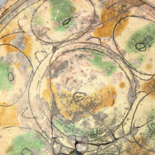 Byzantine Antiquities - Byzantine sgraffito glazed pottery bowl