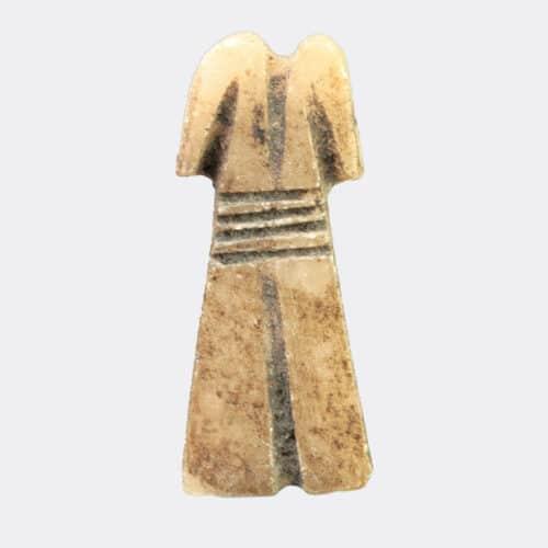 Egyptian Antiquities - Egyptian alabaster furniture inlay