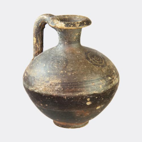 Cypriot Antiquities - Cypriot Early Iron Age painted pottery juglet