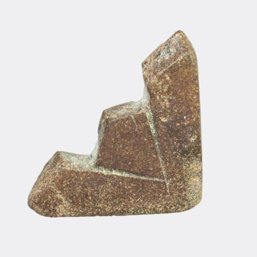 Egyptian Antiquities - Egyptian basalt Seqeq amulet